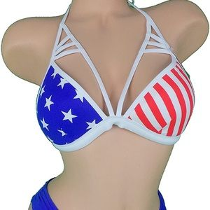 Victoria's Secret flag bikini
